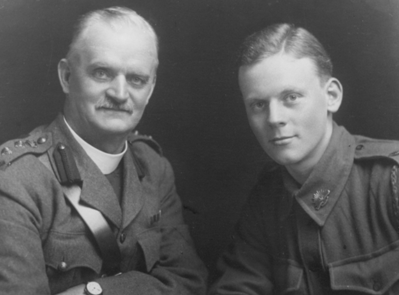 Albert Holden with son Norman