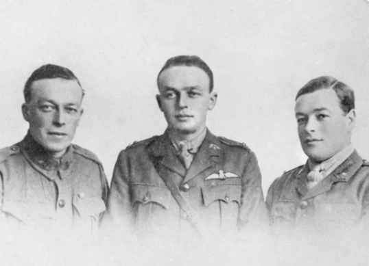 Portrait of the Cummings brothers