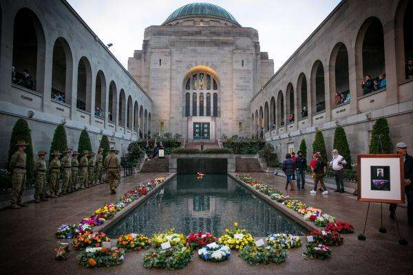 Commemorative Courtyard, Anzac Day 2017