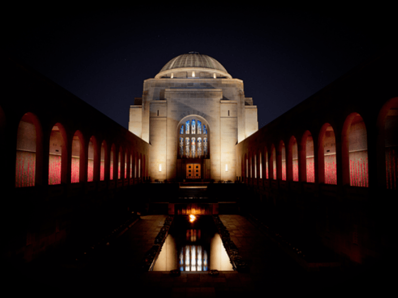 The Australian War Memorial at Night