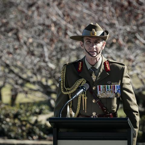 Lieutenant General Angus Campbell, AO, DSC Chief of Defence Force Designate