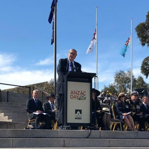 Anzac Day National Ceremony