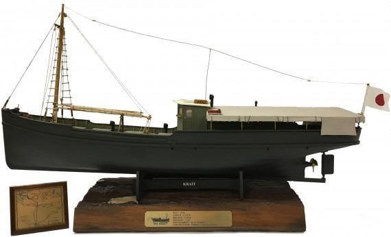 MV Krait: Ship's model base