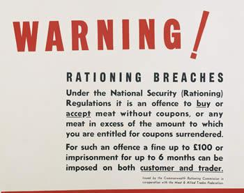 Warning: rationing breaches