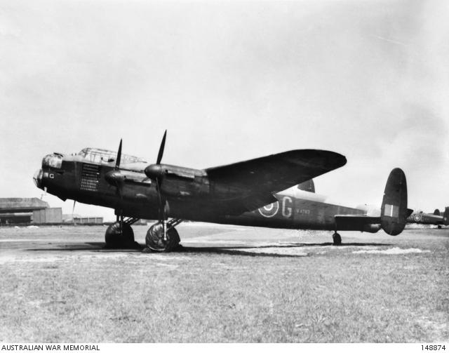 Lancaster Aircraft G for George of No. 460 Squadron RAAF
