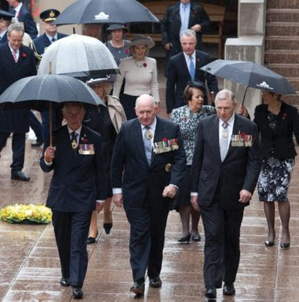 Anzac Day National Service