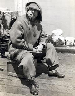 In a lifetime of adventure, Sir Hubert Wilkins became best known as an intrepid polar explorer. Photo courtesy of the American Philosophical Society Library