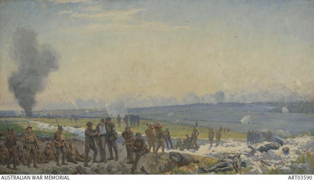 Dawn at Hamel, 4 July 1918