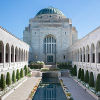 The Australian War Memorial building